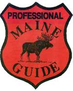 Professional Maine Guide Logo